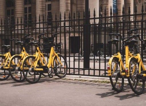 Bike Sharing im urbanen Stadtverkehr
