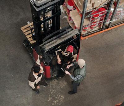 Gabelstapler Smart Mobility Logistik